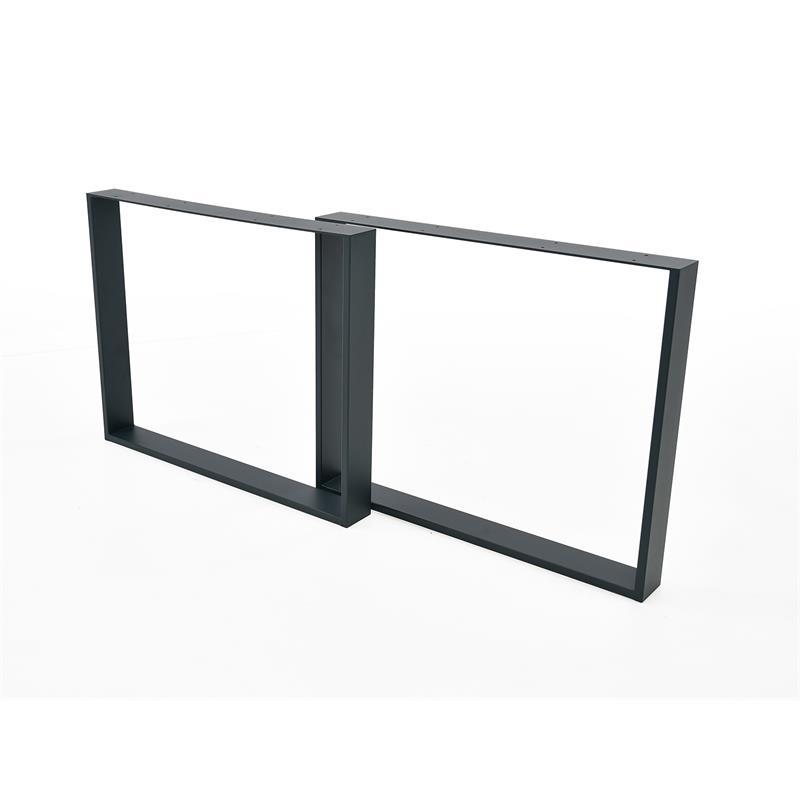 Tischbeine-Tischkufen-Tischgestell-Tischuntergestell-Kufengestell-Anthrazit