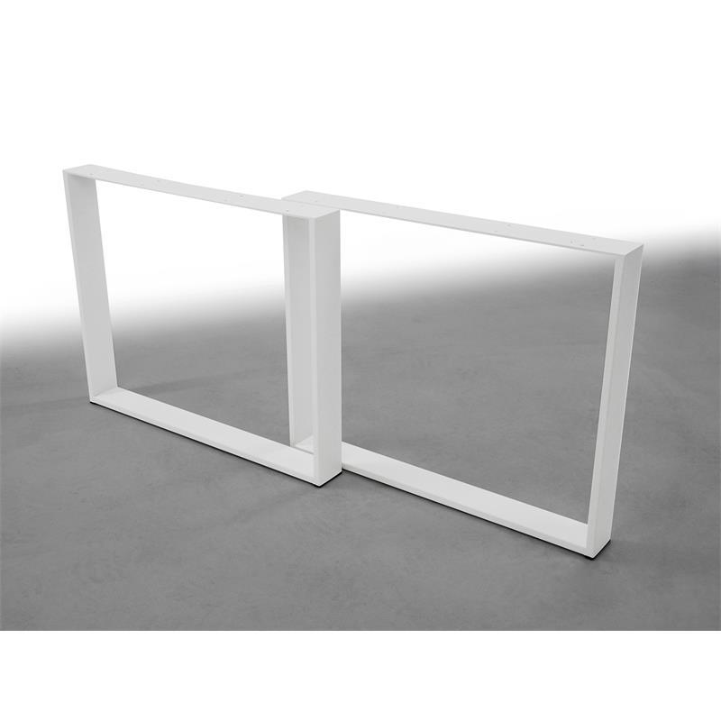 tischbeine tischkufen tischgestell tischuntergestell kufengestell wei ebay. Black Bedroom Furniture Sets. Home Design Ideas