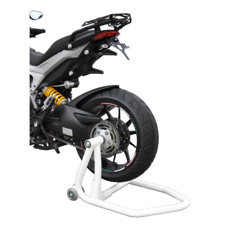 Dorn für Ducati 21,8 Montageständer Ständer Montage Einarm Hinterrad rot