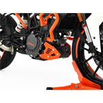 Motorschutz KTM 125 Duke BJ 2017-18 schwarz/orange