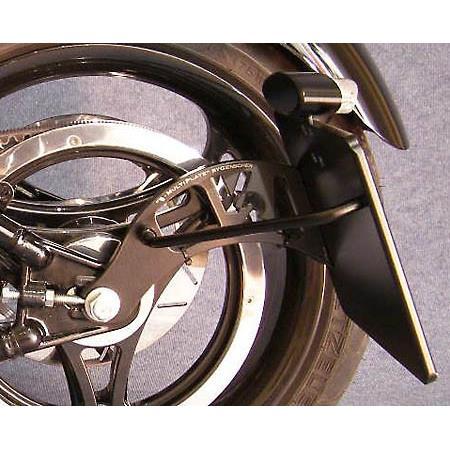 Kennzeichenhalter Harley Davidson Softail BJ 2008- 15 Genscher Black