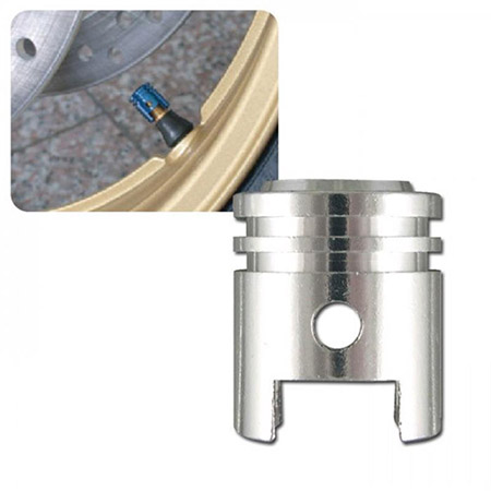 Universal Ventilkappenset Kolben silber