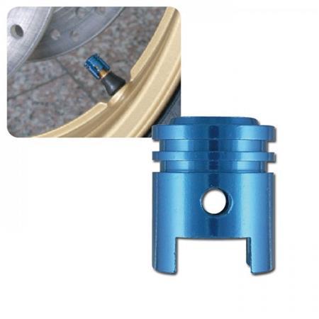 Universal Ventilkappenset Kolben blau