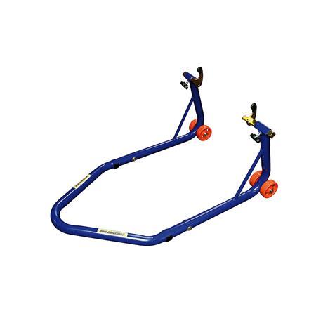 Montageständer PRO 3 Hinterrad für Racingadapter / Bobbins blau motoprofessional