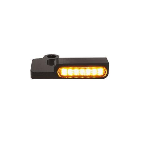 LED Armaturen Blinker SPORTSTER Modelle bis 2013 schwarz