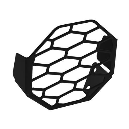 Lampenschutzblech für Nebelscheinwerfergehäuse schwarz