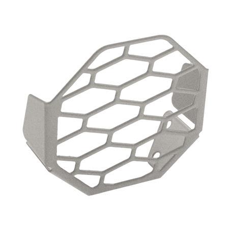 Lampenschutzblech für Nebelscheinwerfergehäuse silber