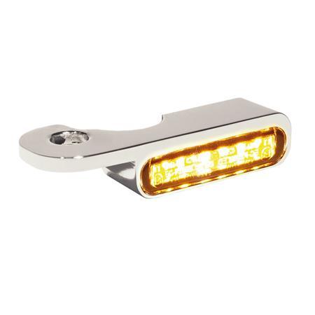 LED Armaturen Blinker für Harley Davidson S Modelle ab 2014 silber
