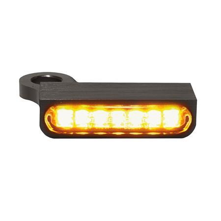 LED Armaturen Blinker für Harley Davidson Sportster Modelle ab 2014 schwarz