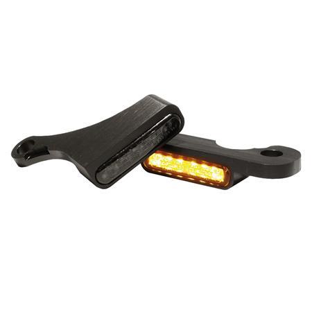 LED Armaturen Blinker für Harley Davidson Softail Modelle ab 2015 schwarz