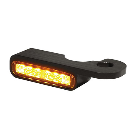 LED Armaturen Blinker für Harley Davidson Night- V-Rod Modelle ab 2002 schwarz