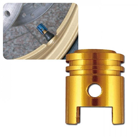 Universal Ventilkappenset Kolben gold