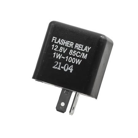 Blinkrelais für LED-Blinker Suzuki ,12V, 2-polig, 1-100W