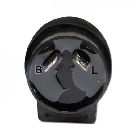 Universal Blinkrelais für LED-Blinker,12V, 2-polig, max 10W