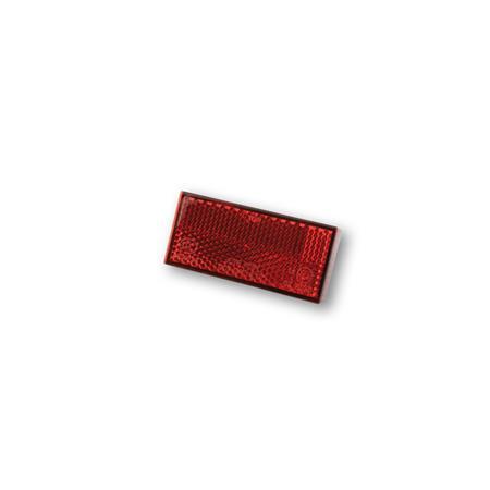 SHIN YO Rückstrahler rot 70 mm x 31,5 mm mit Gewindebolzen M5