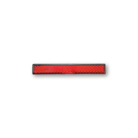 SHIN YO Rückstrahler mit Gewindebolzen M5 rot 16 x 103 mm
