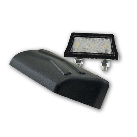 LED-Kennzeichenbeleuchtung Axis schwarz E-geprüft