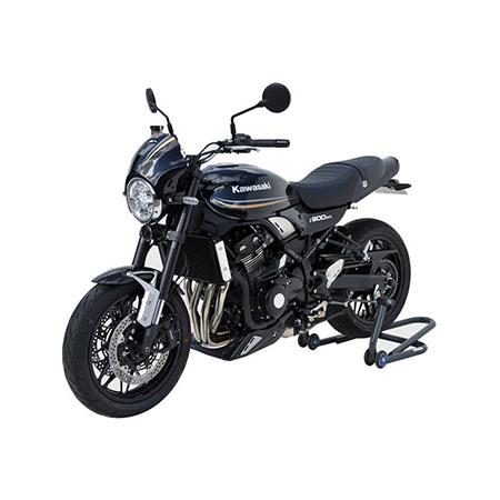 BODYSTYLE Sportsline Black Hinterradabdeckung Kawasaki Z 900 RS BJ 2018 schwarz silber gold