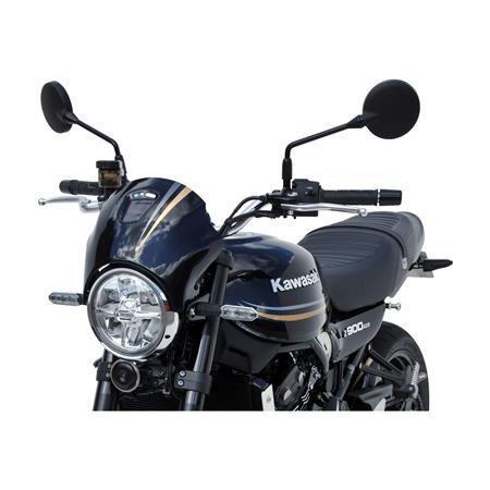Bodystyle Sportsline Scheinwerferverkleidung Kawasaki Z 900 RS BJ 2018 schwarz silber gold