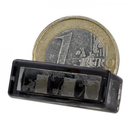 LED-Einbaurücklicht Brick3 getönt