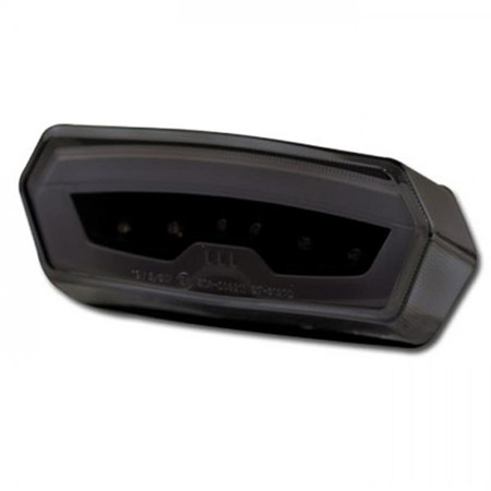 LED Rücklicht Honda MSX 125 BJ 2013-17 / CB / CBR 650 F BJ 2014-18 / CTX 700 N BJ 2013-16 / NC 750 S / X BJ 2016-18 getönt E-geprüft
