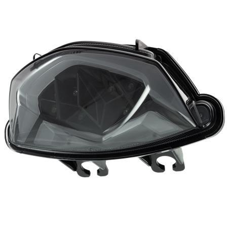 LED Rücklicht Suzuki GSX-S 750 BJ 2017-19 / GSX-S 1000 BJ 2016-20 / GSX-S 1000 F BJ 2016-20, getönt, Reflektor schwarz E-geprüft