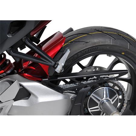 BODYSTYLE Sportsline Black Hinterradabdeckung Honda CB 1000 R BJ 2018-19 rot