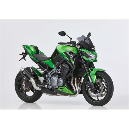 BODYSTYLE Sportsline Sitzkeil Kawasaki Z 900 BJ 2017-18 grün/schwarz
