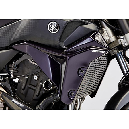 BODYSTYLE Sportsline Kühlerseitenverkleidung Yamaha MT-07 BJ 2017-19