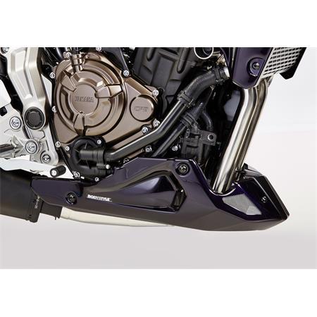 Bodystyle Sportsline Bugspoiler Yamaha MT-07 BJ 2017-19 schwarz