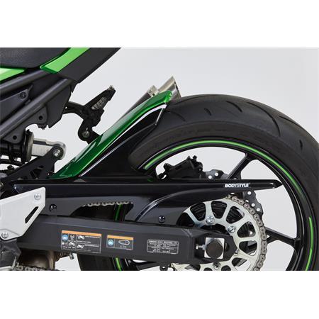 BODYSTYLE Sportsline Black Hinterradabdeckung Kawasaki Z 900 ab BJ 2017 grün / schwarz