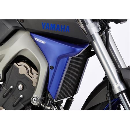 BODYSTYLE Sportsline Kühlerseitenverkleidung Yamaha MT-09 (RN29) BJ 2014-16 orange