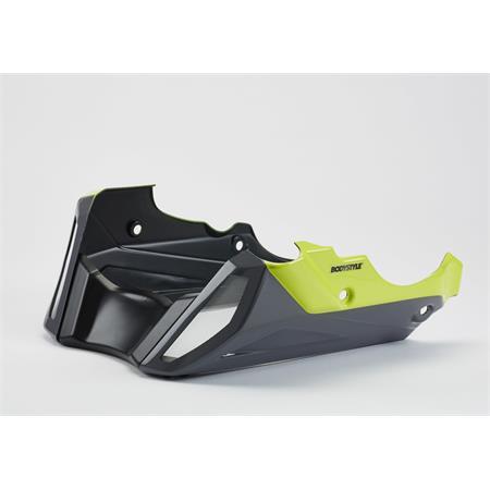 Bodystyle Sportsline Bugspoiler Yamaha MT-09 / Tracer 900 (RN29) BJ 2014-16 grau/gelb