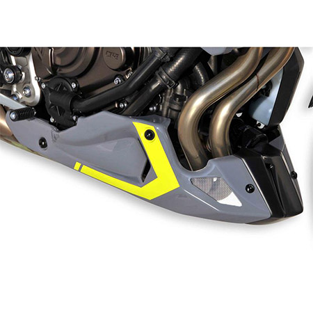 Bodystyle Sportsline Bugspoiler Yamaha MT-09 (RN43) BJ 2017-18 grau/gelb