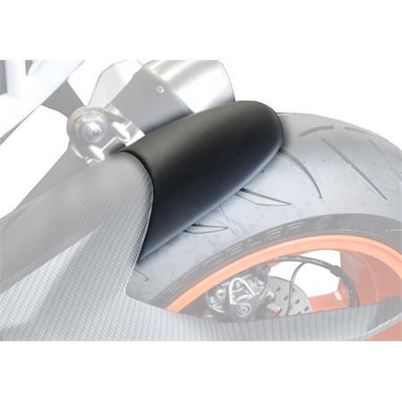 BODYSTYLE Hinterradabdeckungsverlängerung KTM 1290 Super Duke R BJ 2015-19 / KTM 1290 Super Duke GT BJ 2016-19 schwarz