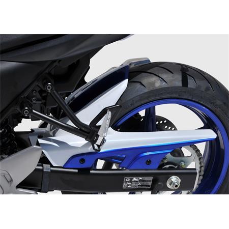 BODYSTYLE Sportsline Hinterradabdeckung Suzuki SV 650 BJ 2016-19 weiß / blau