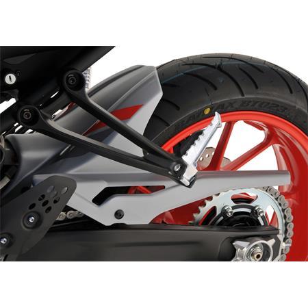 BODYSTYLE Sportsline Hinterradabdeckung Yamaha MT-07 BJ 2017-19 grau/rot