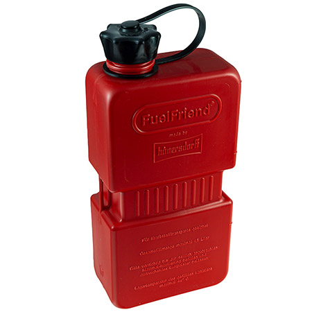 Benzinkanister Fuel Friend 1,5 Ltr. HD-PE rot