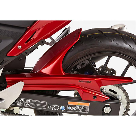 BODYSTYLE Sportsline Hinterradabdeckung Honda CB 500 F BJ 2019 schwarz