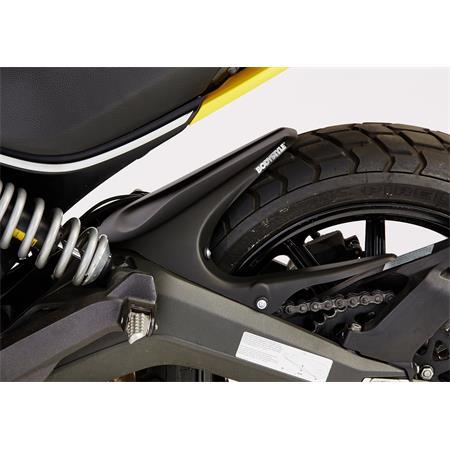 BODYSTYLE Sportsline Black Hinterradabdeckung Ducati Scrambler BJ 2015-19 schwarz