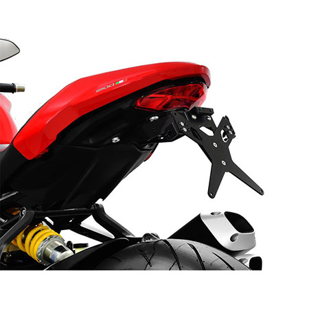 Kennzeichenhalter Ducati Monster 797 BJ 2017-19 / Monster 1200 BJ 2017-19 / Monster 1200 S BJ 2017-19 / Monster 821 BJ 2018-19 X-Line