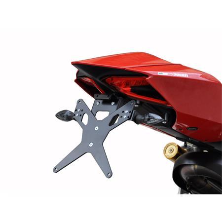 Kennzeichenhalter Ducati 899 Panigale BJ 2014-15 / 959 Panigale BJ 2016-19 / 1199 Panigale 2012-14 / 1299 Panigale BJ 2015-19 X-Line