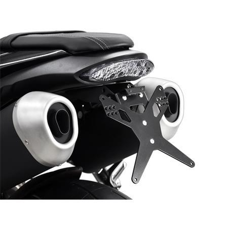 Zieger X-Line Kennzeichenhalter Triumph Speed Triple 1050 S BJ 2016-19 / Speed Triple 1050 R BJ 2016-19 / Speed Triple 1050 RS BJ 2016-19