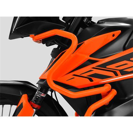 ZIEGER Sturzbügel Verkleidung KTM 790 Adventure BJ 2019-21 orange