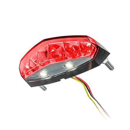 KOSO LED-Rücklicht mit Nummernschildbeleuchtung E-geprüft