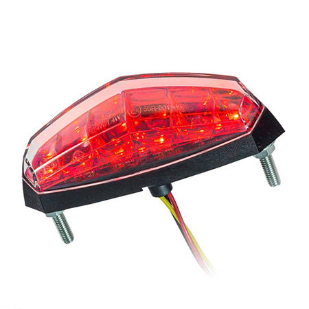 KOSO LED-Rücklicht roter Reflektor E-geprüft