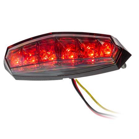 KOSO LED-Rücklicht getöntes Glas E-geprüft
