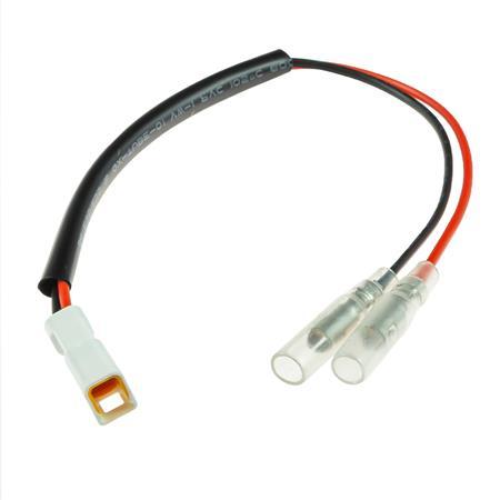 Adapterkabel für Kennzeichenleuchte DUCATI /  HUSQVARNA / KTM