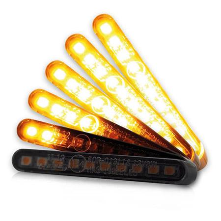 LED-sequenziell-Einbaublinkerset  getönt