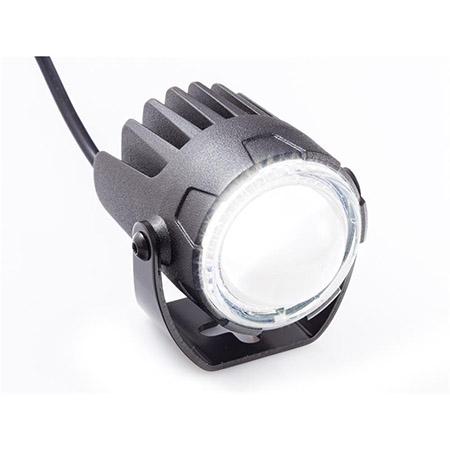 LED Fernscheinwerfer High-Beam matt schwarz